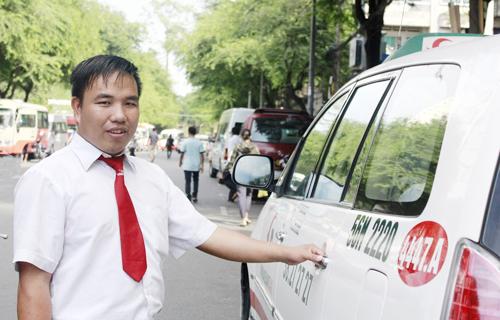 lai xe Vinasun taxi